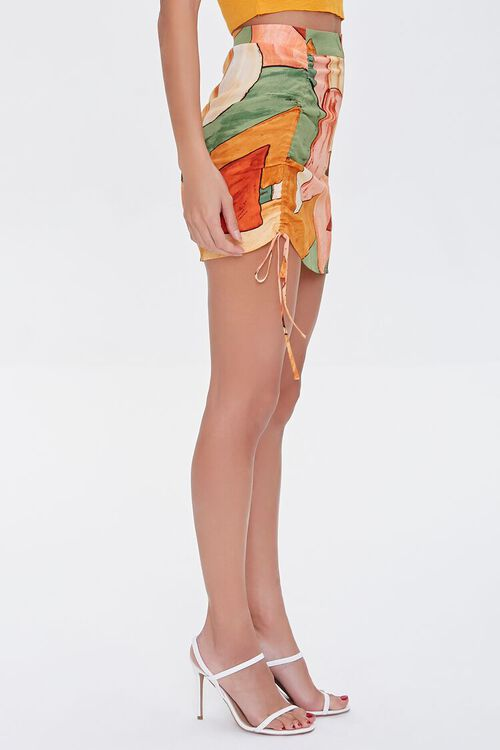 Abstract Geo Print Mini Skirt, image 3