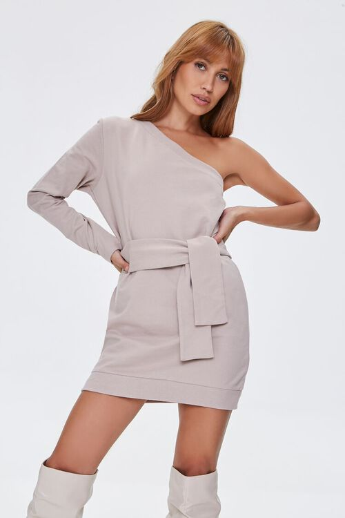 One-Shoulder Mini Dress, image 1