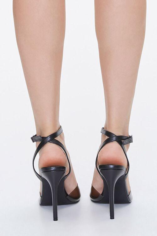 BLACK Semi-Transparent Stiletto Heels, image 3