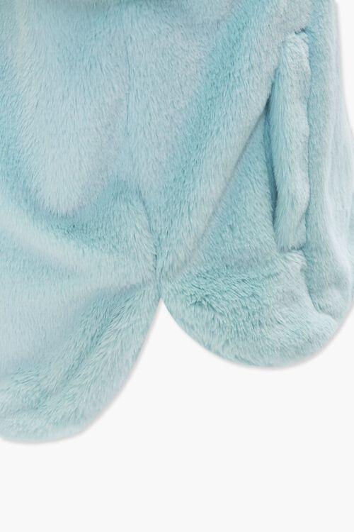 Plus Size Plush Hooded Jacket, image 5