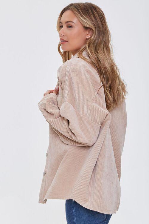Corduroy Drop-Sleeve Shirt, image 2