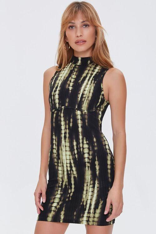 Bleached Bodycon Mini Dress, image 2
