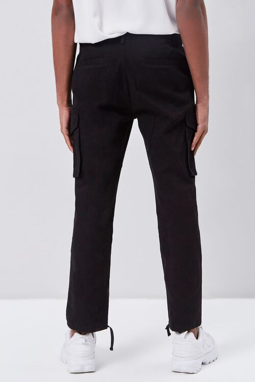 Self-Tie Jogger Cargo Pants, image 4