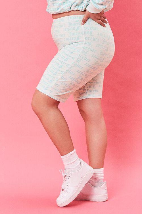 Plus Size Juicy Couture Biker Shorts, image 3