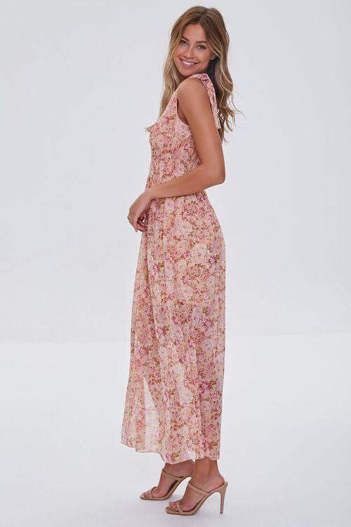 Floral Print Maxi Dress, image 2