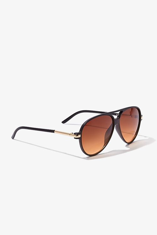 Tinted Aviator Sunglasses, image 2