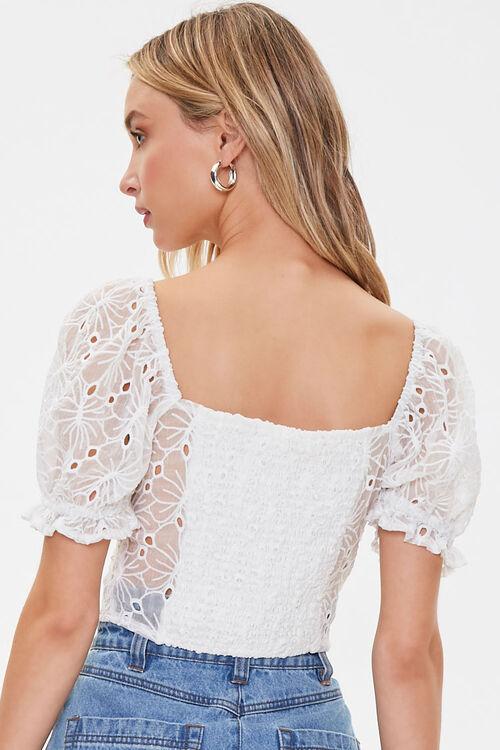 Sheer Crochet Lace Top, image 3