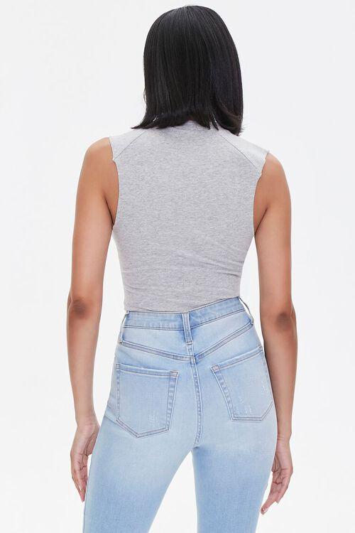 Sleeveless High-Neck Bodysuit, image 3