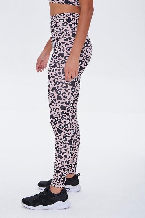Active Leopard Print Leggings, image 3