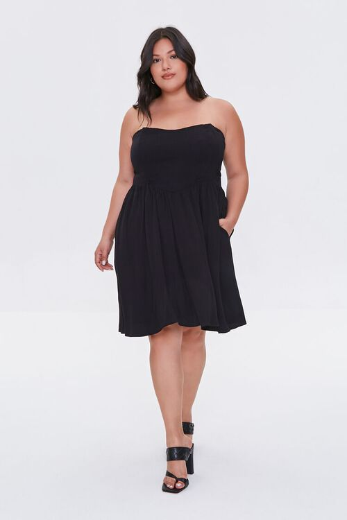 Plus Size Strapless Princess Dress, image 4