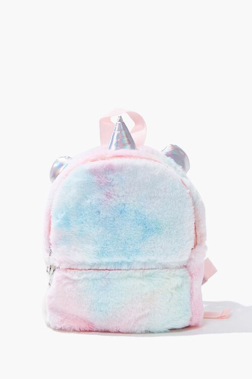 Girls Faux Fur Unicorn Backpack  (Kids), image 1