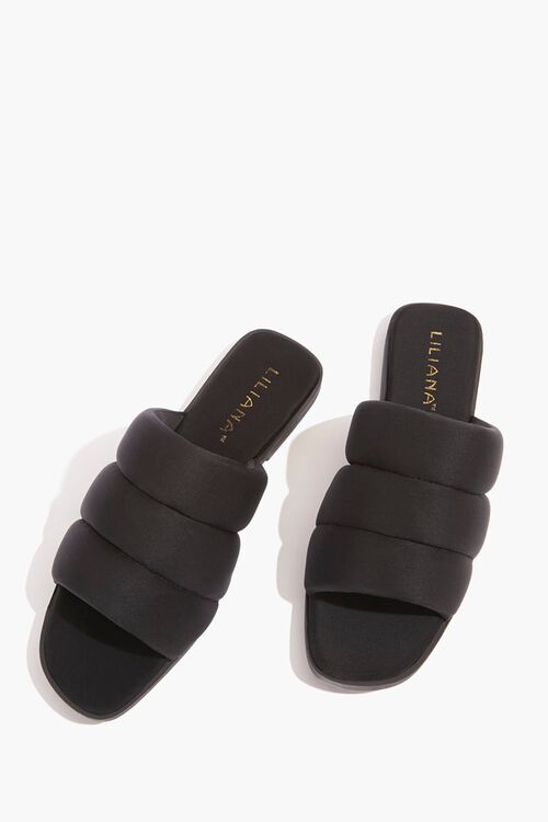 Quilted Slide Sandals, image 3