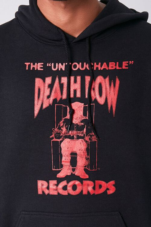 BLACK/RED Death Row Records Graphic Hoodie, image 5