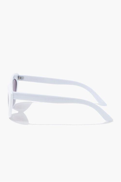 Opaque Cat-Eye Sunglasses, image 2