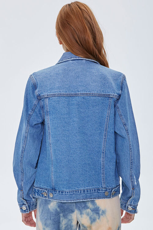 Embroidered Star Denim Jacket, image 3