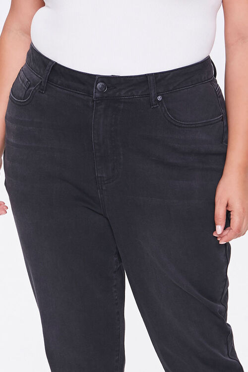 Plus Size High-Rise Mom Jeans, image 4