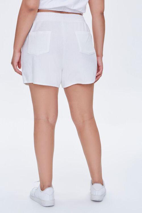 Plus Size Cotton-Blend Shorts, image 4