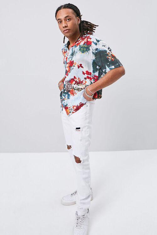 Abstract Floral Print Shirt, image 4