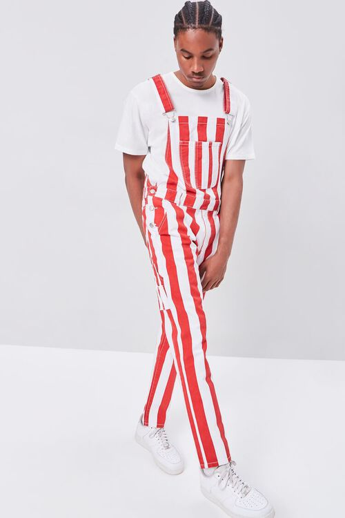 Bold Vertical Striped Overalls, image 6