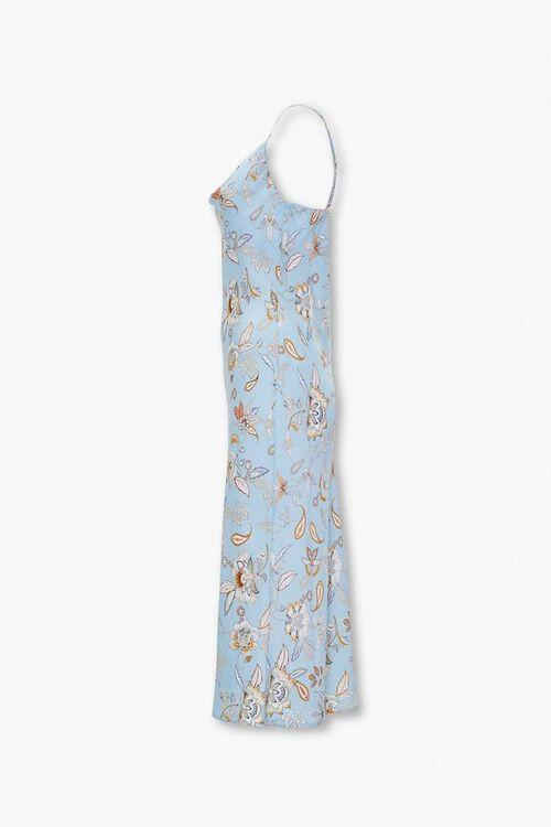 Paisley Print Slip Dress, image 2
