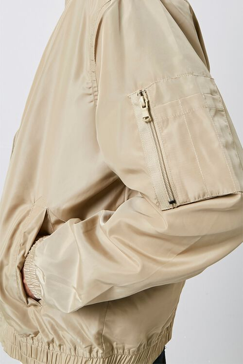 Zippered Bomber Jacket, image 5