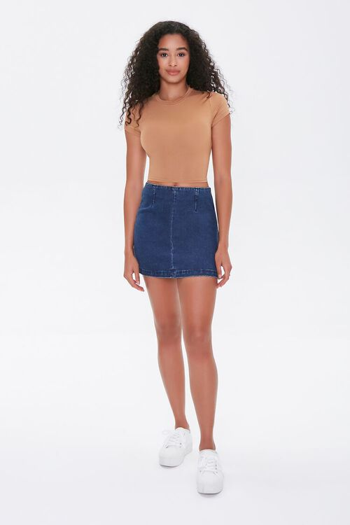Tie-Back Cropped Tee, image 5