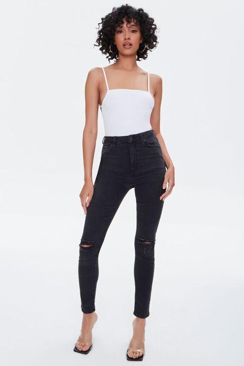 Strappy-Back Cami Bodysuit, image 5