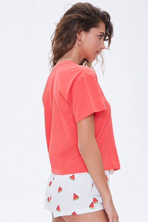 Watermelon Graphic Pajama Set, image 2