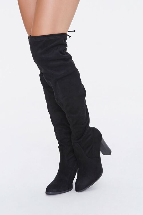 Slouchy Over-the-Knee Boots, image 1