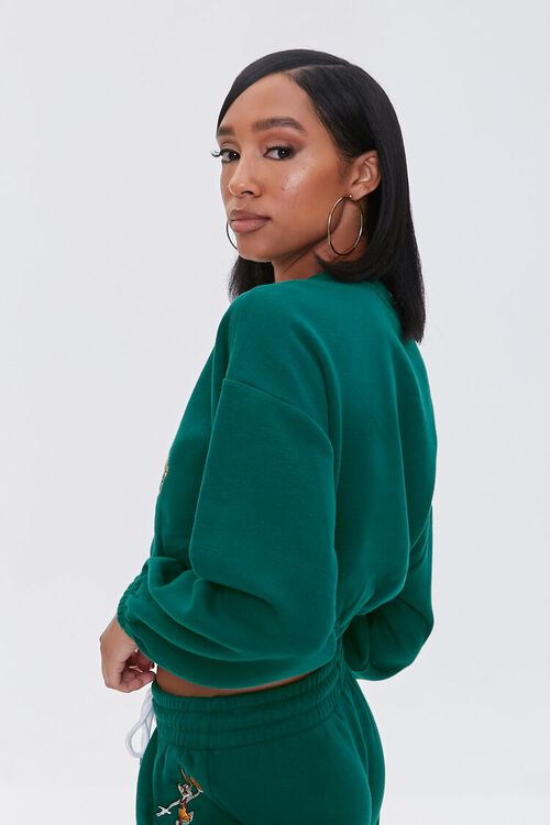 Cropped Tune Squad Pullover, image 2