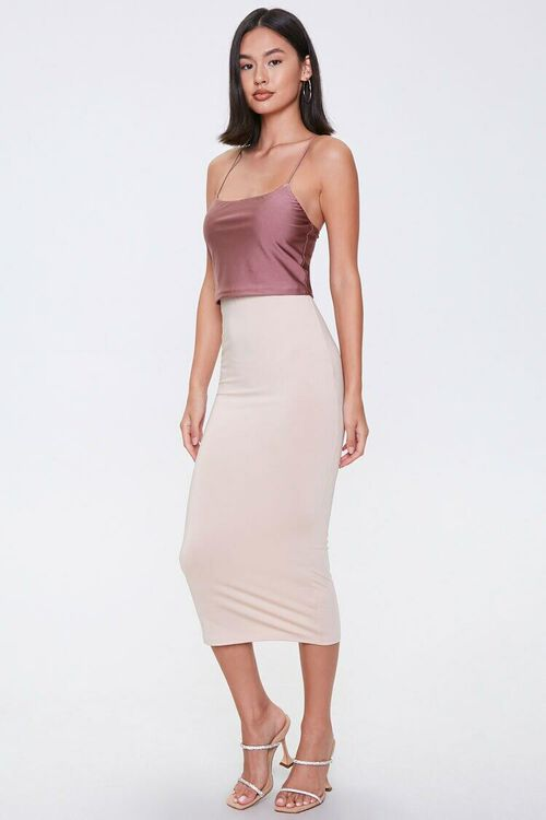 ROSE Crisscross Cropped Cami, image 4