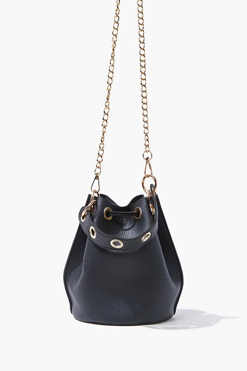 Faux Leather Bucket Bag, image 2