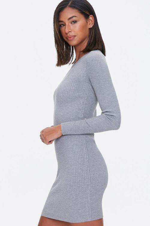 Sweater-Knit Mini Dress, image 2