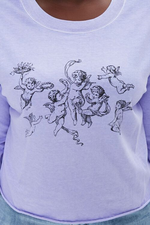 Plus Size Angel Graphic Top, image 5