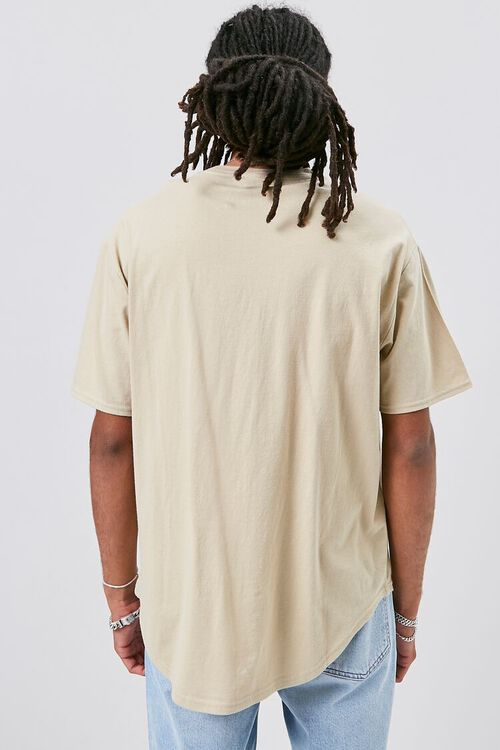 Scoop-Hem Crew Neck Tee, image 3