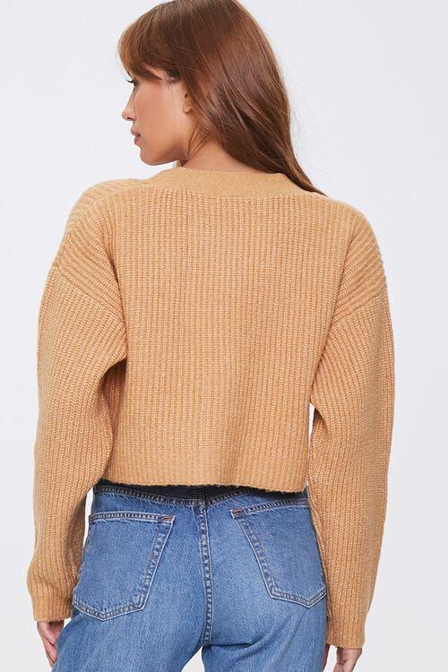 Cropped Cardigan Sweater, image 3