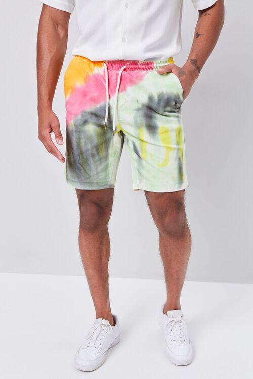Tie-Dye Drawstring Shorts, image 2