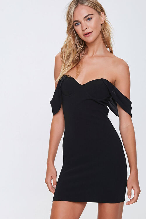 Off-the-Shoulder Sweetheart Dress, image 1