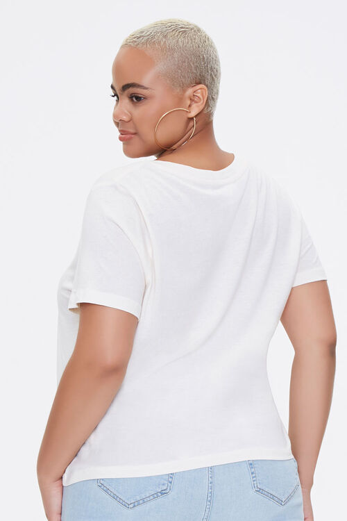 Plus Size Cotton-Blend Tee, image 3