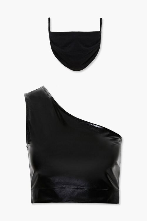 Active Crop Top & Face Mask Set, image 3
