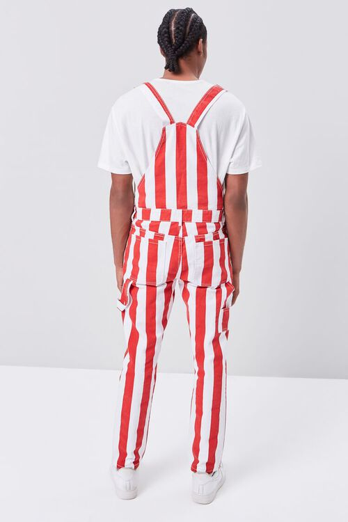 Bold Vertical Striped Overalls, image 3
