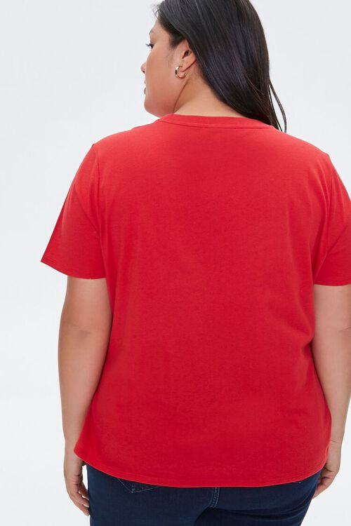 Plus Size Organic Cotton Gangster Wrapper Tee, image 3