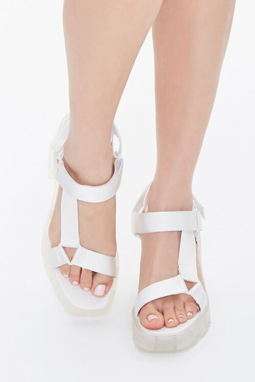 Semi-Transparent Platform Block Heels, image 4