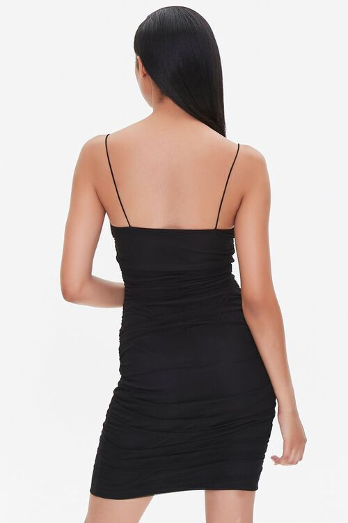 Ruched Bodycon Mini Dress, image 3