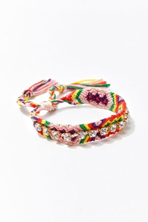 Rhinestone Friendship Bracelet, image 1