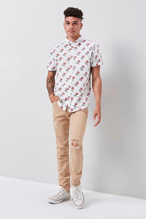 Rose Print Pocket Shirt, image 4