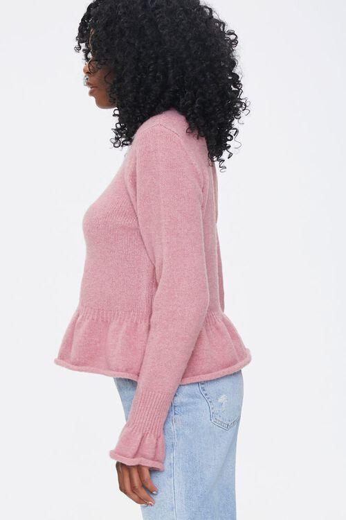 Rolled Ruffle-Trim Sweater, image 2
