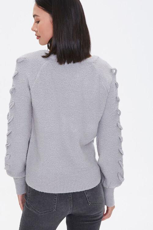 Lace-Up Sleeve Sweater, image 3