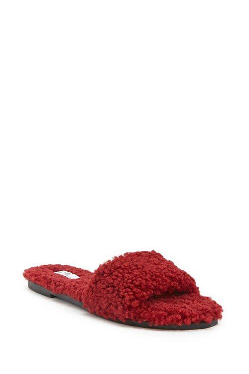 Faux Fur Slides, image 2