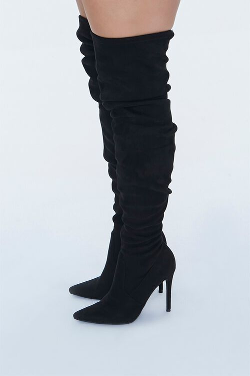 Over-the-Knee Stiletto Boots (Wide), image 2